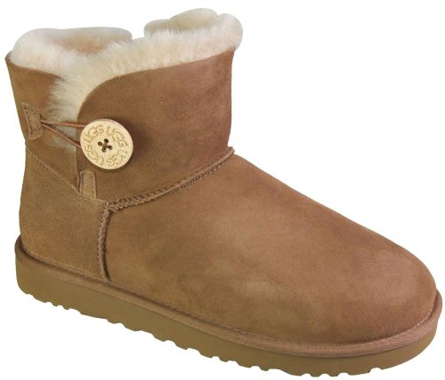 Noisette Button W's Femme Bailey Mini Button Boots Ugg xwnvUpzq0p