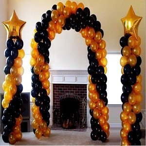 Sturdy Party Balloon Wedding Arch Stand Kit - 19Ft Adjustable by MFS