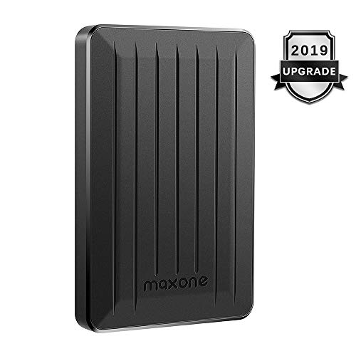 1TB Portable External Hard Drive - Maxone Upgrade Portable HDD USB 3.0 for PC, Laptop, Mac, Xbox one, PS4, Chromebook, Smart TV - Black
