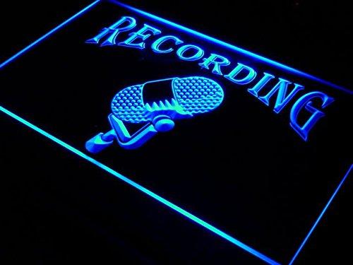 Recording On The Air Radio Studio LED Sign Night Light i206-
