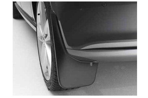 2-TLG Schwarz genarbt Set 6RU075101A Volkswagen VW Schmutzf/änger hinten
