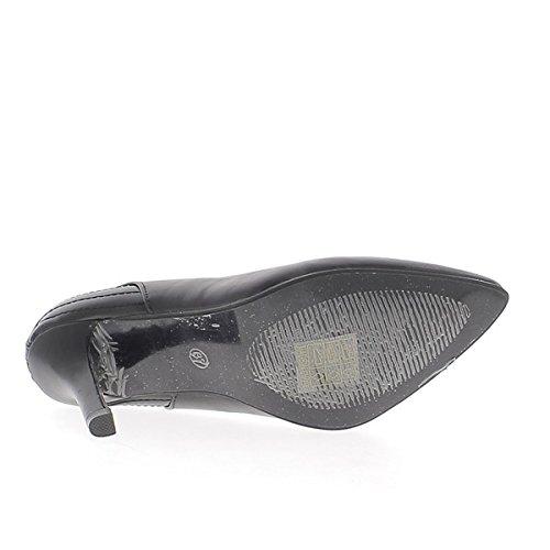 cuciture di sottili nere con Scarpe tacchi tagliente 9cm aSpTwx