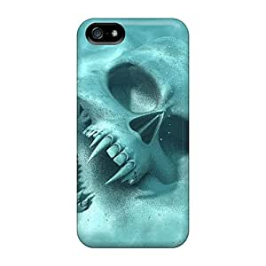 Fashionable Style Case Cover Skin For Iphone 5/5s- Vampire Skull