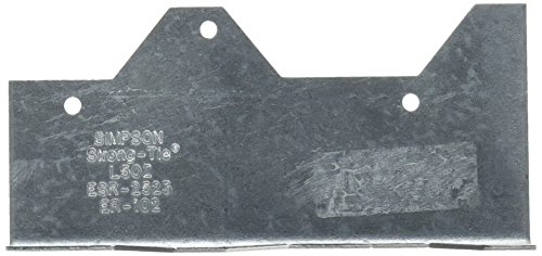 Simpson Strong Tie L50Z ZMAX Galvanized 16-Gauge 5-Inch Reinforcing L-Angle ()
