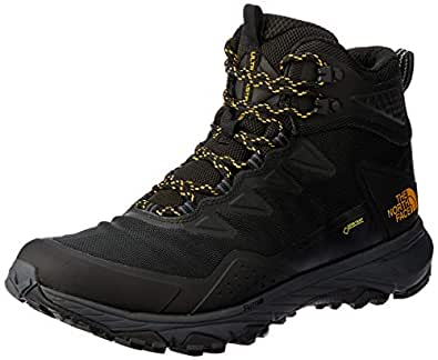 The North Face Men's Ultra Fastpack Iii Mid GTX Trekking & Hiking Boots, TNF Black/Amber, 7 US