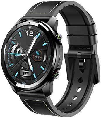 WQYRLJ Inteligente Hombres del Reloj del Dial De Cerámica 1.3 Táctil Completa 360 * 360 HD De Pantalla Pulsera Deporte Smartwatch Rastreador De Ejercicios De Ritmo Cardíaco