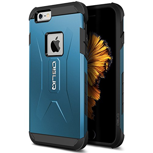 iPhone 6S Case, Obliq [Xtreme Pro][Metallic Blue] Heavy Duty Sturdy Bumper Soft PC TPU Shock Scratch Resist Protective Thin Slim Fit Armor Cover for Apple iPhone 6S (2015) & iPhone 6 (2014)