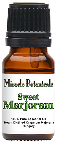 Miracle Botanicals Sweet Marjoram Essential Oil - 100% Pure Origanum Majorana - 10ml or 30ml Sizes - Therapeutic Grade - ()