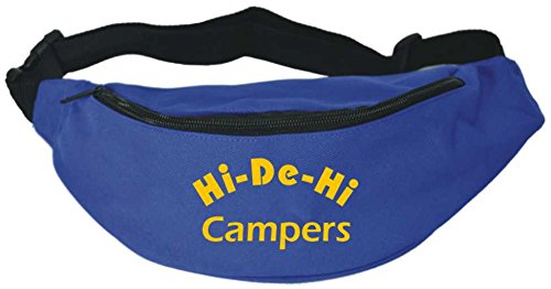 Hi De Hi Campers Blue Fun Fancy Dress Bum Bag FREE POSTAGE (One Size)