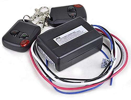 iMBAPrice 12V, 15 Amps, Heavy Duty Boat and Car Universal Remote Control Kit ()