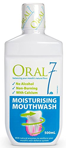 Oral7 Dry Mouth Moisturizing Mouthwash Containing Enzymes, 17oz