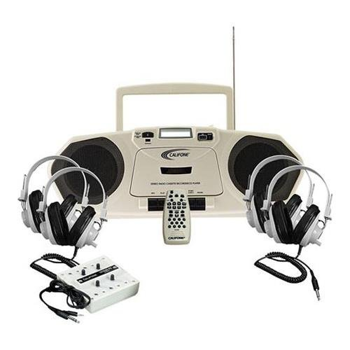 Califone 2385PLC Music Maker 4-Person Stereo Learning Center, 2385PLC