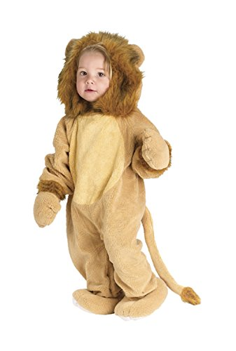 Cuddly Lion Toddler Halloween Costume Size: Small - 6-12 months (Cuddly Lion Baby Costume)