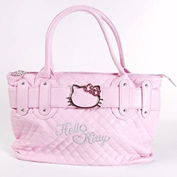 Amazon.com: Hello Kitty Bolso bolsa Compras Bolso De Mano ...