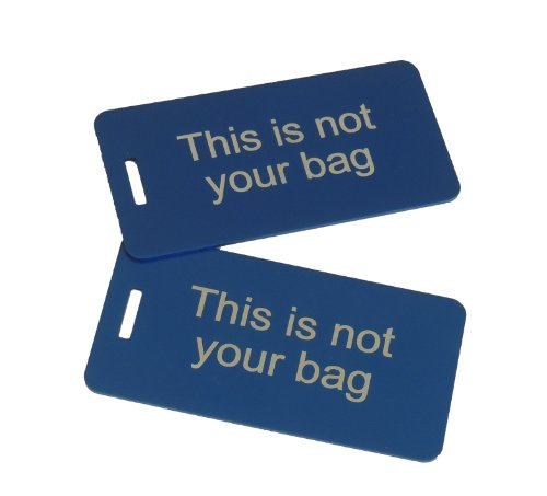 This is not your Bag Set of Two, Blue