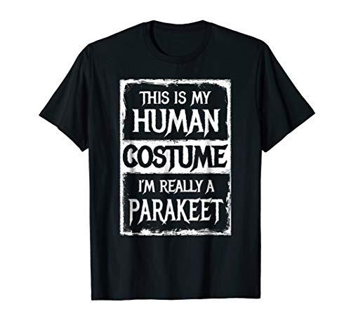 I'm Really a Parakeet Shirt Funny Costume Halloween]()