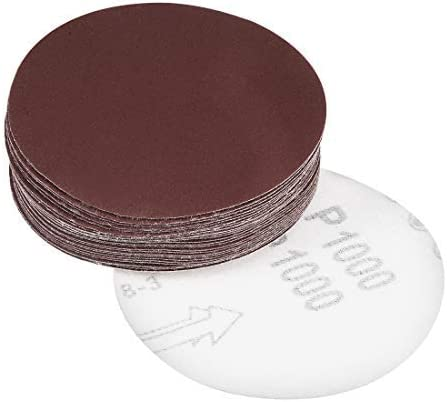 - 4-inch sanding disc, 1000 grains, aluminum oxide sanding, back sanding for sanders, 25 pieces