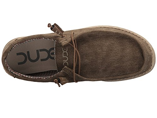 Hey Dude Shoes - Hey Dude Wally Shoes - Nut, Braun, 7 UK