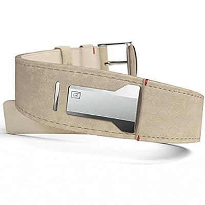 Klokers klink-01 klok-01 klok-02 watchband strap leather grey beige by klokers