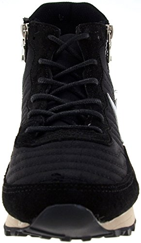 Maxstar JO 6-Holes Tall Up Casual Studed Sneakers Shoes Black p9ZItQUVDl