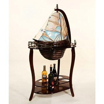 Fabulous Yacht Boat Santa Maria Globe Drinks Bar Cabinet Amazon Co Home Interior And Landscaping Eliaenasavecom