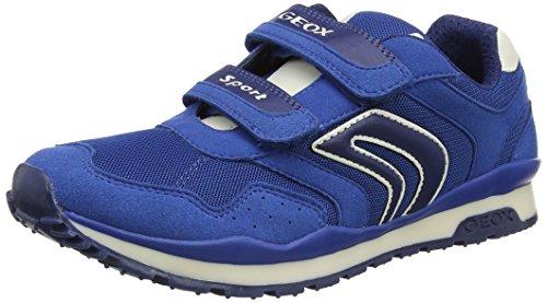 Geox J PAVEL A - zapatilla deportiva de material sintético niño Azul (Royalc4011)