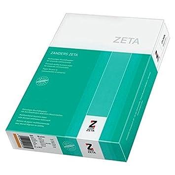 Zanders ZETA - Papel para máquina de escribir (mate, 80 g/m², formato A4), color blanco: Amazon.es: Oficina y papelería