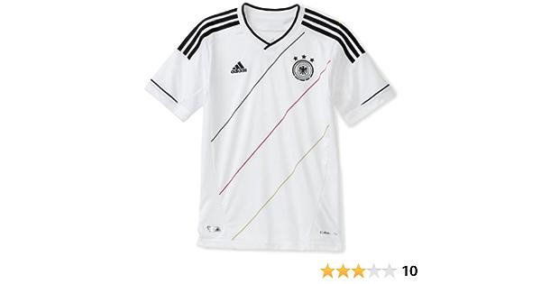 Amazon.com : Germany Home Boys' Jersey (White, Small) : Sports Fan ...
