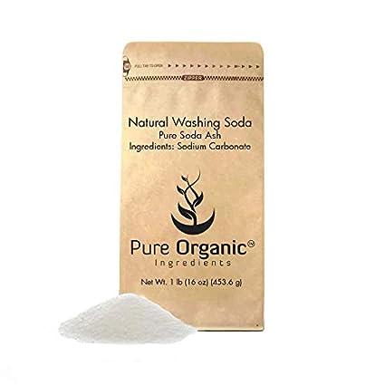 Natural lavado Soda o Ceniza, o de carbonato de sodio, multiusos limpiador, descalcificador