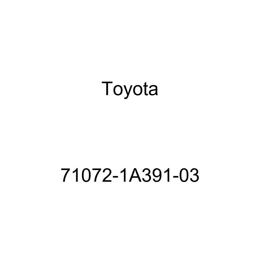 TOYOTA Genuine 71072-1A391-03 Seat Cushion Cover