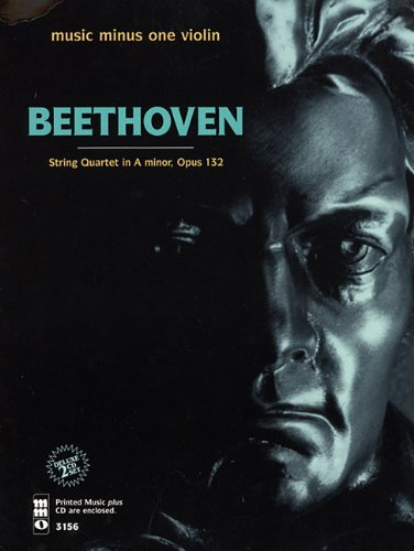 Beethoven - String Quartet in A Minor, Op. 132: Book/2-CDs Pack (Music Minus One (Numbered)) ()