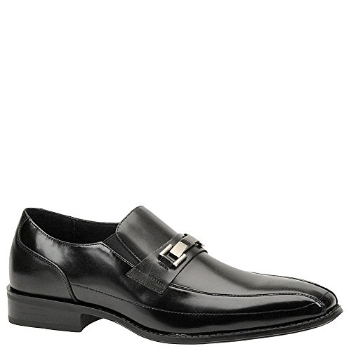 (STACY ADAMS Men's Wakefield Black Loafer 9.5 D (M))