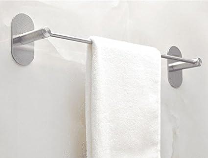 Accesorios de baño Yomiokla - Toalla de metal para cocina, inodoro, balcón y bañoAdmitir