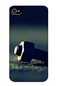 26b9f626539 Tpu Phone Case With Fashionable Look For Iphone 4/4s - Nuts Macro Case For Christmas Day's Gift