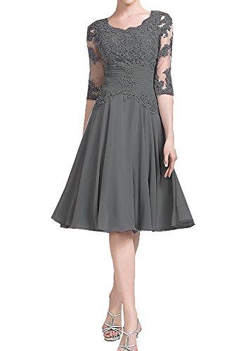 Annadress Mother Of The Bride Dress Prom Dresses Short Evening Bridesmaid Dresses 2018 Grey 14