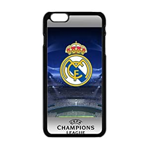 Happy Real Madrid Logo Cell Phone Case for Iphone 6 Plus