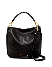 Marc by Marc Jacobs Too Hot Too Handle Hobo Top Zip Shoulder Bag, Black