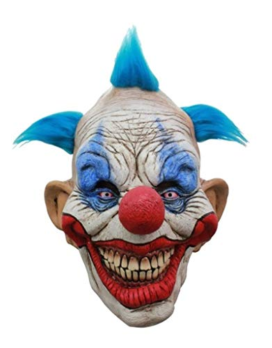 Dammy the Clown Latex Mask Adult Evil Scary Killer Klown Mask Halloween Horror by Unknown (Image #1)