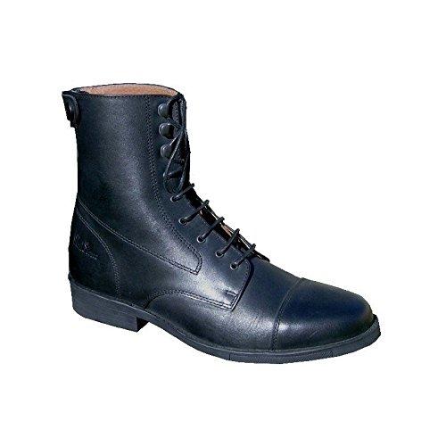 44 nbsp;Nero Ride Pelle Liscia Boots Derby xgU7q7