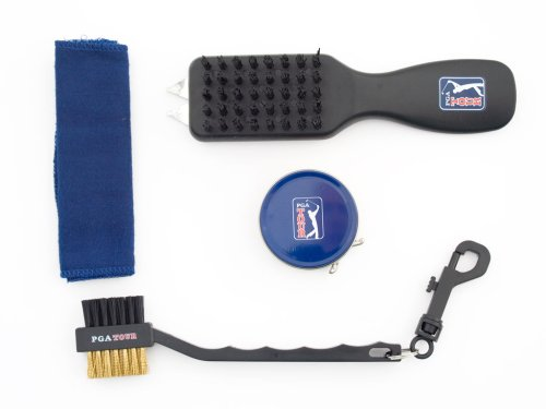 PGA-Tour-Shoe-Bag-With-Club-Cleaning-Set