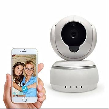 Cámara de Vigilancia Seguridad,IP inalámbrica,4 LED infrarrojo,3.6mm Gran Angular