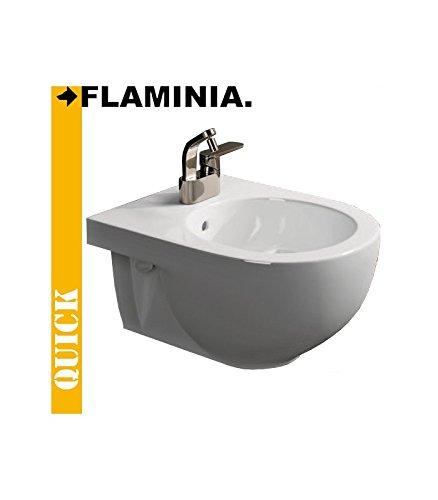 Flaminia serie Quick QK218 Bidet sospeso bianco monoforo