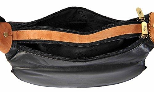 Shoulder Navy Blue GIGI Black 22 Honey Leather Various Colourways Handbag Bag Othello 17 Crossbody rPPqEwv