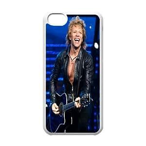 [bestdisigncase] For Iphone 5c -Bon Jovi Pop-Metal Music Band PHONE CASE 18