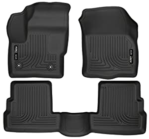 Husky Liners 99301 Black Front & 2nd Seat Floor Liners Fits 15-19 MKC