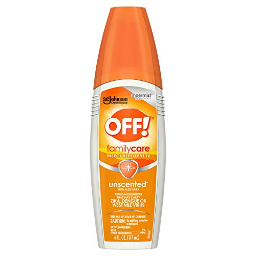 - OFF! Family Care Unscented With Aloe Vera 6 oz (Pack of 12)