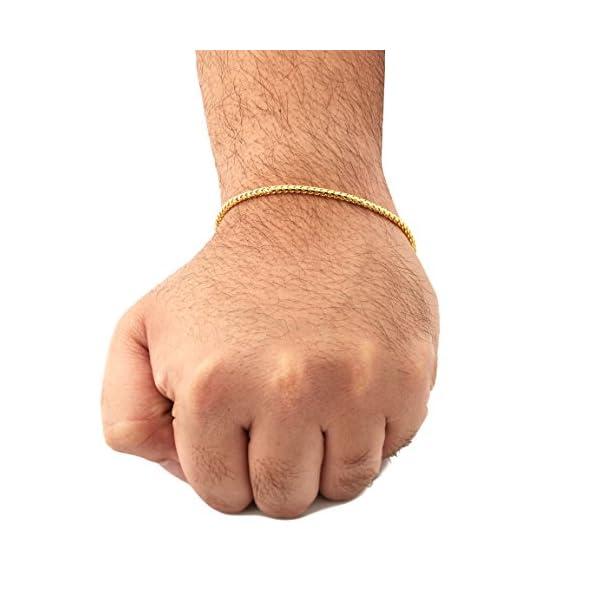LoveBling-10K-Yellow-Gold-28mm-Solid-Diamond-Cut-Franco-Chain-Bracelet-with-Lobster-Lock-7-75-8-85-9