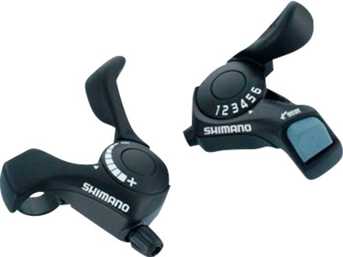 (Shimano SL-Tx30 Tourney 6-Speed Right & Left (Friction) Thumb Shifter Set)
