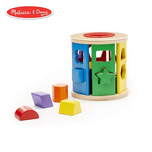 Melissa & Doug Match & Roll Shape-Sorter