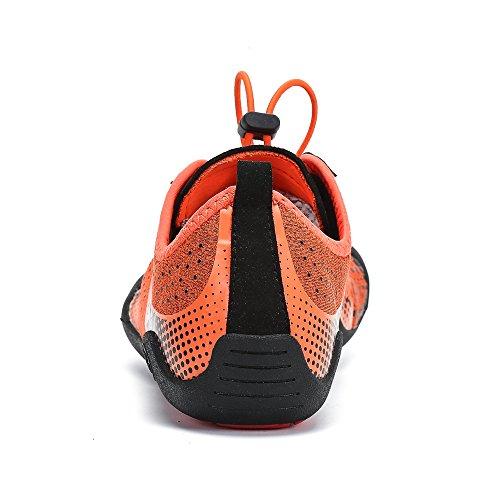 11 Plonge Sports 3 De Piscine Pieds Chaussures Running Fitness 5 Uk Pastaza Pour Femmes Secs Schage Plein Surf Rapide Orange Swim Air Plage Aqua Marche La Yoga qYYS6Bax